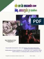 Material Trabajando en La Escuela Con Radiación, Energía y Color