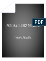 Unidad 9 Primera Guerra Mundial - Felipe Gutiérrez González