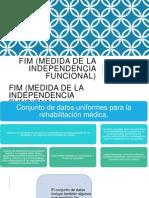 Fim (Medida de La Independencia Funcional)