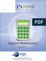 Applied Mathematics Level 1