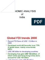 Economic Analysis of India