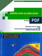 Energi dan Globalisasi