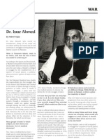 Interview with Dr. Israr Ahmed