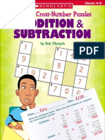 40 Cross-Number Puzzles Addition & Subtraction