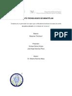 Biodiesel de Aceite de Palma