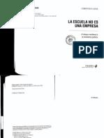 Laval Christian - Escuela No Es Una Empresa - LIBRO