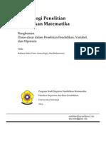 Dasar-dasar Dalam Penelitian Pendidikan, Variabel, Dan Hipotesis