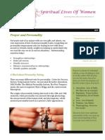Prayer Personality