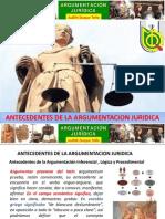 Diaposistivas de Antecedentes de La Argumentacion Juridicaff