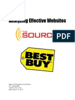 analyzing effective websites