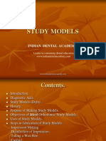 Study Model / orthodontic courses by Indian dental academy