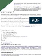 WordPress Setup Guide Free