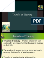 Transfer of Training.ppt
