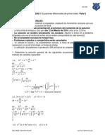 Problemario Ec. Dif. Unidad 1 Parte 2 Isc-4av