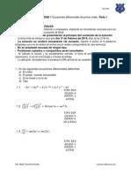 Problemario Ec. Dif. Unidad 1 Parte 1 Isc-4av