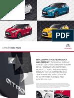 Citroen Ds3 Plus Brochure