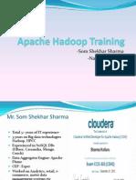 Apache Hadoop Developer Training