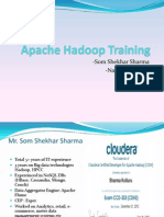 Apache Hadoop Developer Training