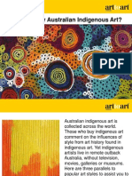 Why to Buy Australian Indigenous Art?