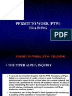 Permit to Work Training