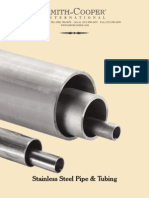SCI Stainless Pipe and Tubing 0709
