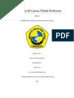 Peritonitis Et Causa Tifoid Perforasi