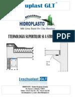 Catalog HIDROPLASTO- Tehnologia Suportilor Si a Structurilor