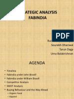 Strategic Analysis- FabIndia