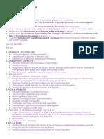 Medical Biochemistry Syllabus