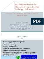 The use and dissemination of the alternate wetting and drying technology in Central Luzon, Philippines