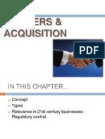 Merges & Acquisition