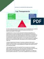 El Portal de Transparencia y La Solicitud de Información