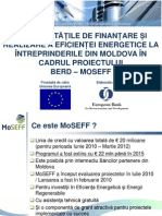 MoSEFF - Agency for Innovation and Technology Transfer From April 04, 2014