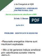 2014 IE ASM Contributii La Valorificarea SER