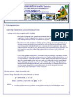 Proracun - Dimenzioniranje protoka za krovne oborinske vode