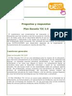 PREGUNTAS Y RESPUESTAS TIC 2.0