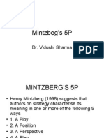 Mintzbeg's 5P