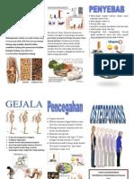 leaflet osteoporosis