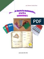 Caiet de Lucru La Matematica Cl v Semestrul i
