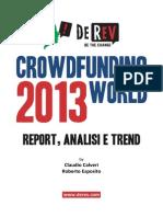 Crowdfunding World Report 2013