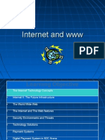 Internet and Www Infrastructure