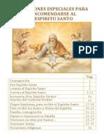Libro de Oraciones Al Espiritu Santo Por Paginas