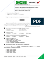 LimbaRomana EtapaII 13-14 ClasaIII