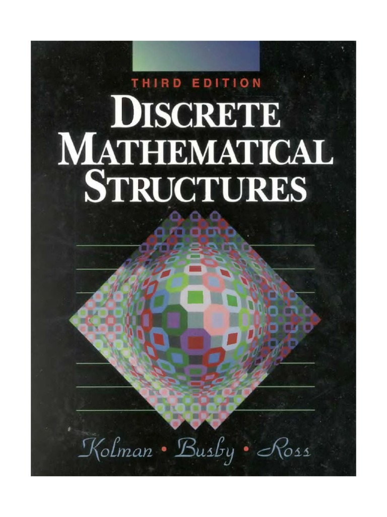 Discrete mathematical structures kolmanbusbyss fandeluxe Image collections