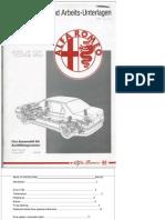 Carte Tehnica Alfa Romeo