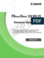 Canon Sx30is Cug En