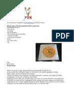 990 Kcal Di Sapori Di Mare Risotto Crema Di Scampi e Cernia Alla Pizzaiola