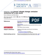 Beyond 'dangerous' climate change