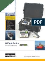 Kittiwake MAK19643PA Oil Test Centre Datasheet