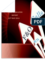 Derivative Report 23 MAY 2014